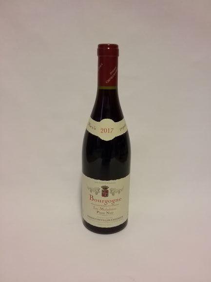 """Bourgogne Pinot Noir """"Les Maladières"""" Chevillon 2017 (*)"""