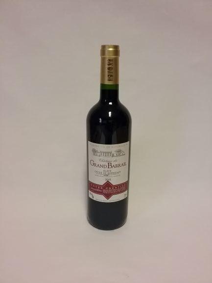 Premières Côtes de Blaye - Château du Grand Barrail Prestige 2017 - 150 CL